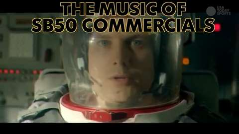 Take a look at all the greatest music featured in Super Bowl 50 commericials.