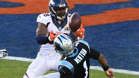 USA TODAY Sports' Lindsay H. Jones and Lorenzo Reyes weigh in on Denver's stellar defensive performance in a 24-10 win over the Carolina Panthers in Super Bowl 50.
