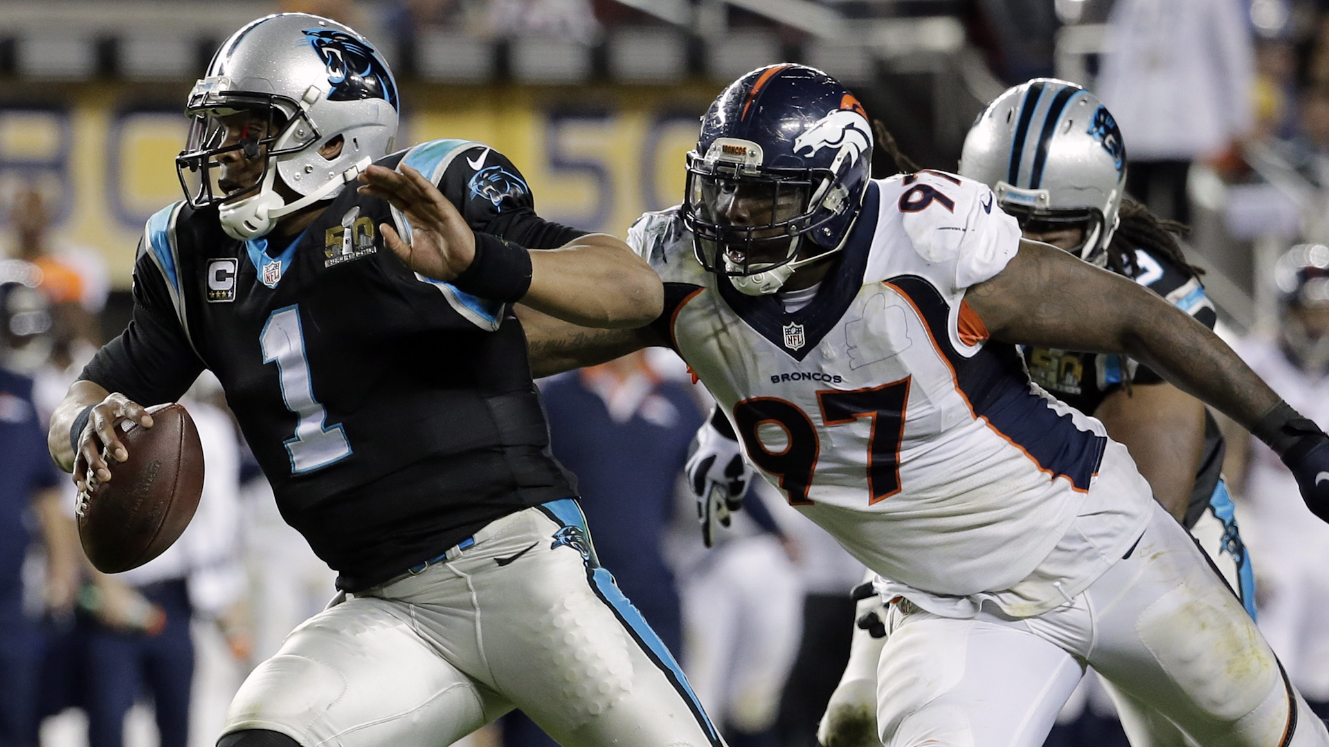 The MMQB's Peter King and Andy Benoit breakdown the Denver Broncos' containment of the Carolina Panthers' QB Cam Newton.