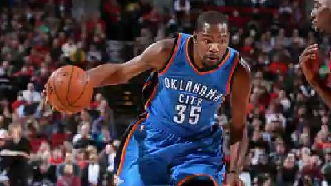 USA TODAY Sports' Sam Amick talks about why Kevin Durant is focused on the present and not his upcoming free agency.