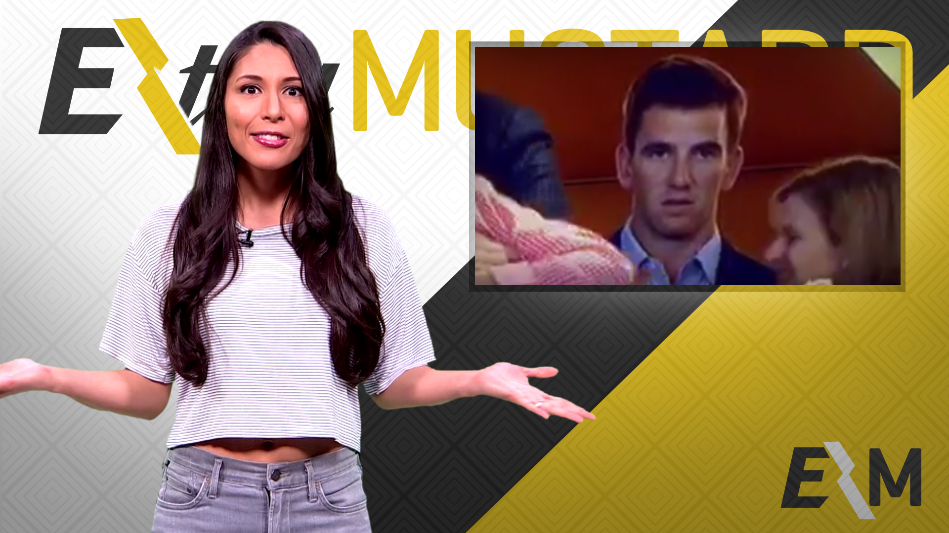 Mustard Minute: Eli Manning's face is your reaction to everything in life
