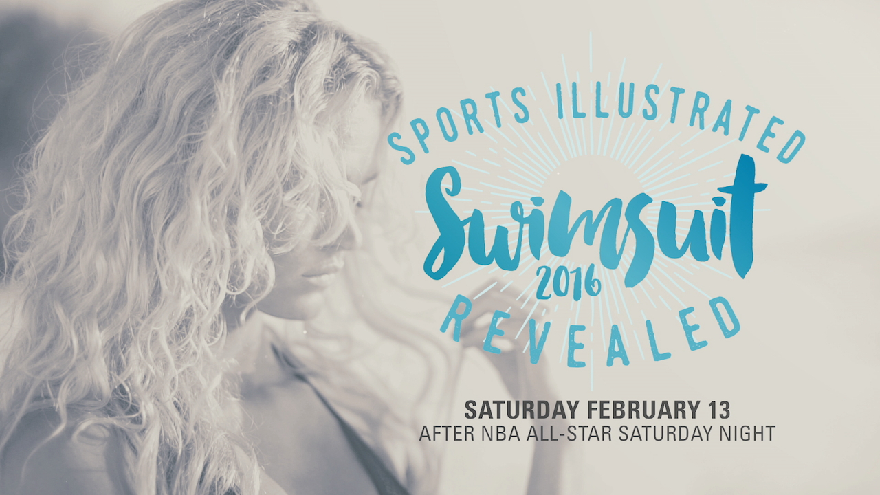 Join us February 13th on TNT after NBA All-Star Saturday Night for the big reveal of the 2016 Sports Illustrated Swimsuit Issue.