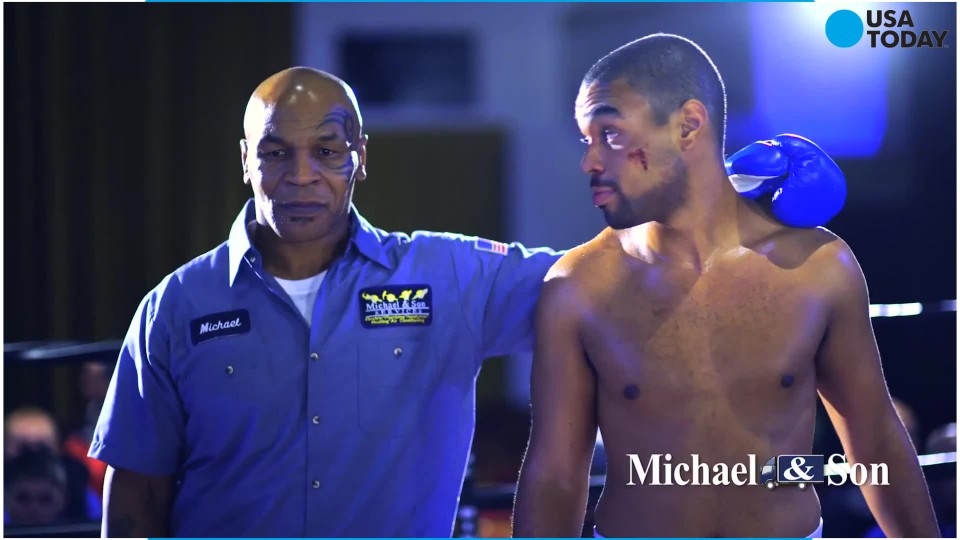 Washington area plumbing and heating company Michael and Son Services delivered a  knock-out punch with their ad featuring Mike Tyson which appeared just before halftime of Super Bowl 50 and appeared in select east coast states.
