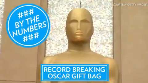 Check out some of the priciest items from this year's Oscars gift bag.