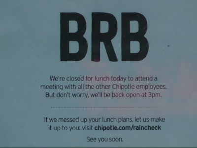 Food safety meeting delays Chipotle opening