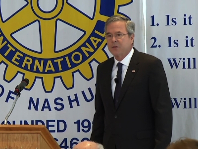 Bush: Trump's Insults Not a Sign of Strength