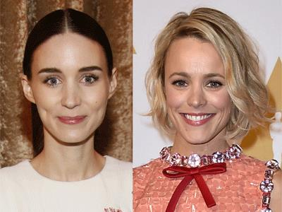 At the Oscar nominees luncheon, Rooney Mara and Rachel McAdams share what it's like to be nominated for an Academy Award. (Feb. 8)