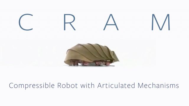 Cockroach-Inspired robot can squeeze into some tight spaces