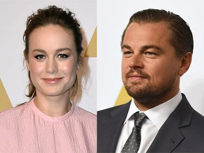 Brie Larson, Leonardo DiCaprio, Mark Ruffalo, Steven Spielberg and Rachel McAdams are among the stars on the red carpet ahead of the Oscar nominees luncheon. (Feb. 8)