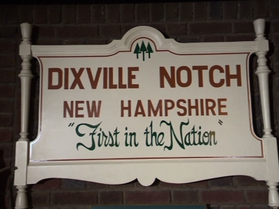Residents of Dixville Notch, New Hampshire got ready to cast their ballots at midnight in the nation's first 2016 presidential primary. The polls will close almost immediately after the nine registered voters in town have voted. (Feb. 8)