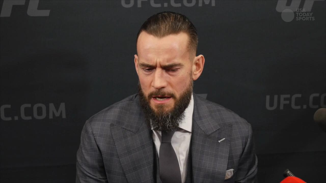 CM Punk concedes 'weird' situation, ready to get in octagon