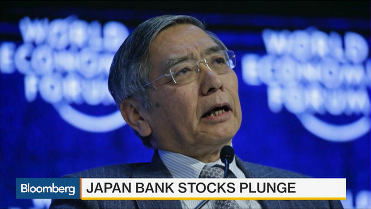 The yen strengthened past 115 per dollar for the first time in more than a year and Japan's benchmark 10-year yield fell in an unprecedented decline below zero as haven assets benefited from concern that global growth is fading.