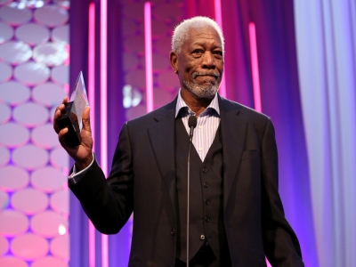 "Speaking at the AARP Movies for Grownups Awards in Los Angeles, Morgan Freeman admits he's confused about how the Academy Awards are going to diversify as the ""Academy doesn't hire actors, the Academy doesn't write scripts."" (Feb. 9)"