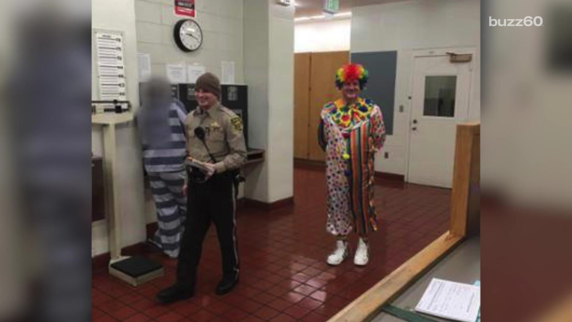 The suspect didn't say why he was wearing a clown costume, but police say he admitted to having several drinks before hitting the road. Gillian Pensavalle (@GillianWithaG) has details.