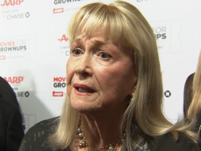 At the AARP Movies for Grownups Awards - where she won best supporting actress for her role in 'Joy' - Diane Ladd talked about being overlooked by the Oscars and her anger at Hollywood politics and machinations. (Feb. 9)