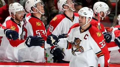 With a unique blend of veterans and youngsters, the Florida Panthers are now contenders.