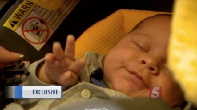A portion of skin beneath the infant's tongue was unnecessarily removed. Video provided by Newsy