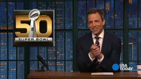 The late-night comics on half-time show that's still got people talking and ads that turned viewers off. Take a look at our favorite jokes, then vote for yours at opinion.usatoday.com.