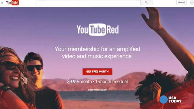 YouTube is launching new original content for YouTube Red subscribers in a move to take on streaming giants like Netflix, Hulu and Amazon.