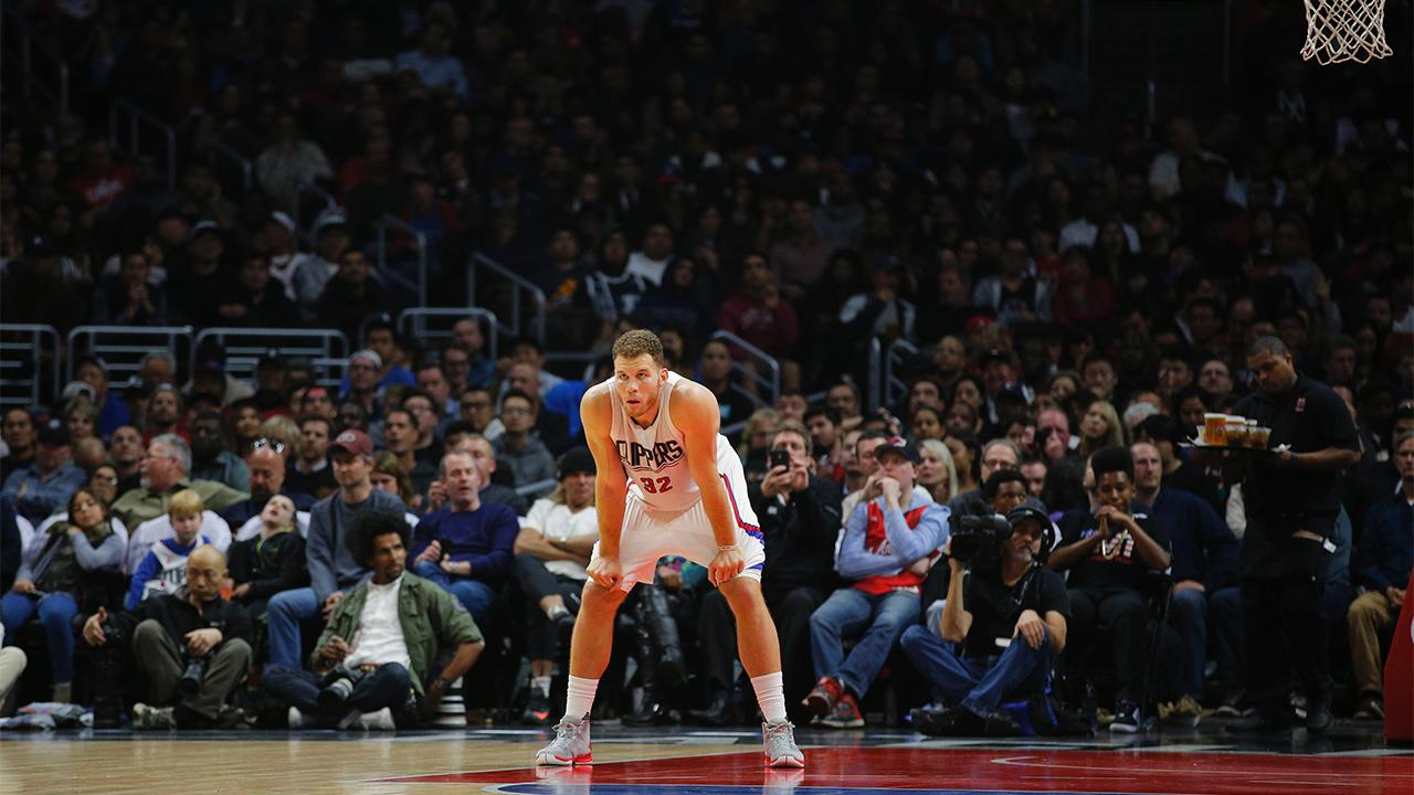 Clippers forward Blake Griffin has been suspended four games without pay for striking a team employee on Jan. 23 and his wages will be withheld for one additional game for injuries he sustained.