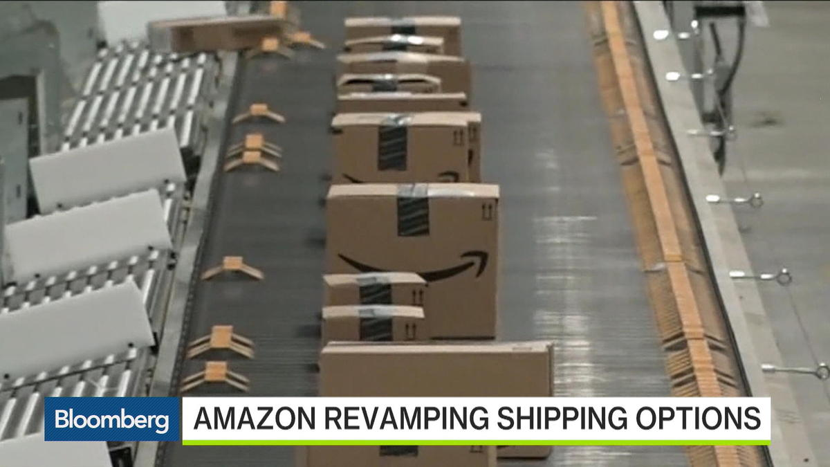 "Ryan Petersen, Flexport's chief executive officer, and Bloomberg's Brad Stone discuss Amazon's global shipping plans with Bloomberg's Cory Johnson on ""Bloomberg West."""