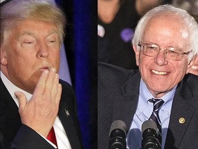 Analysis: Trump, Sanders Reach Similar Voters