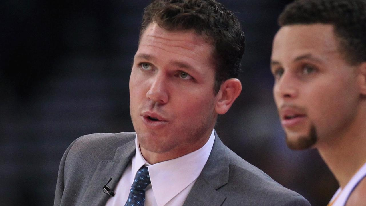 Warriors assistant coach Luke Walton lead the team to its great start this season, but just missed the opportunity to coach the West.