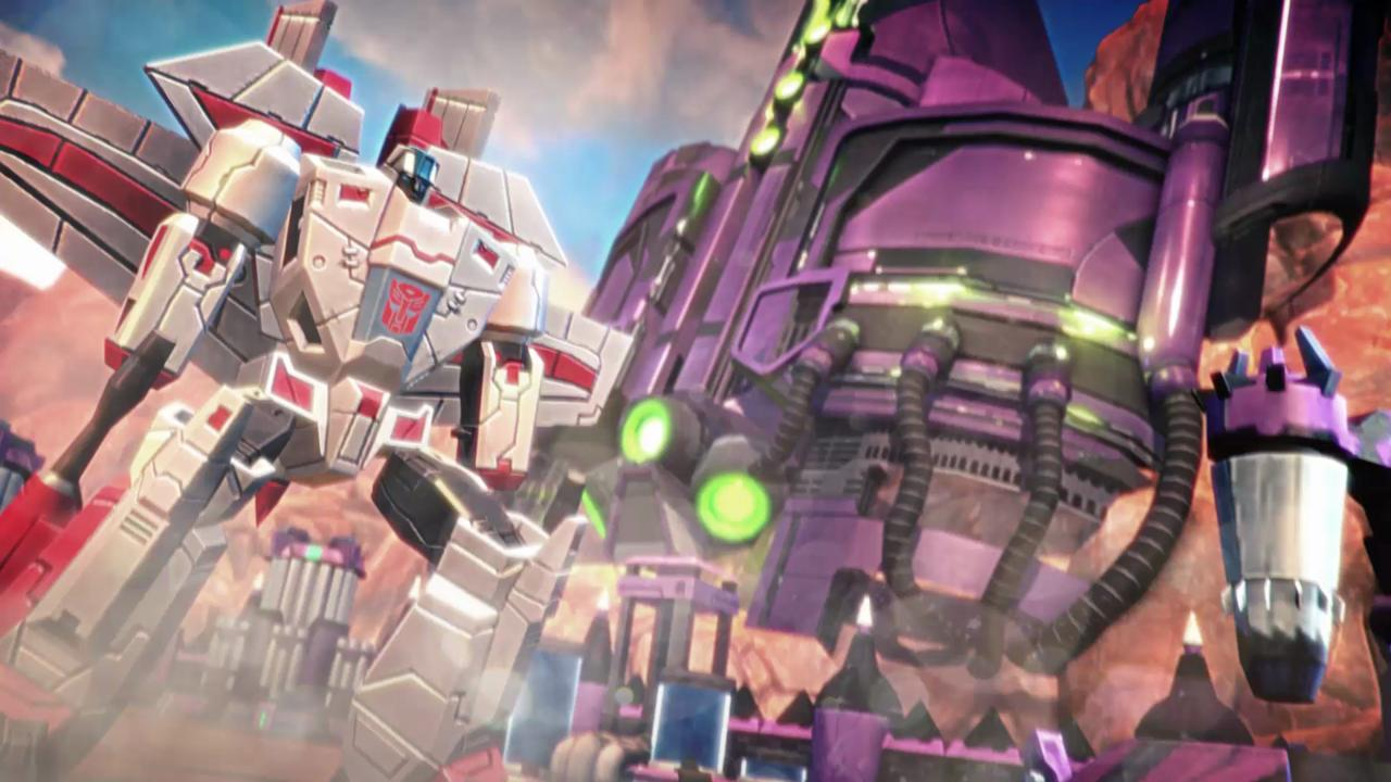 A scene from 'Transformers: Earth Wars.'