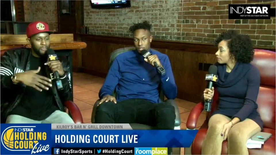 Indiana Pacers rookie Myles Turner talks about adjusting to the NBA lifestyle on IndyStar's Holding Court Live with C.J. Miles.