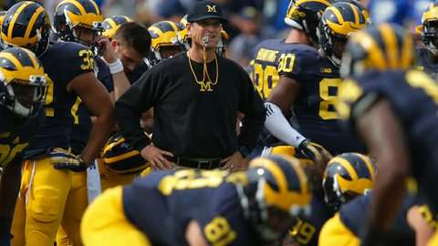 Jim Harbaugh's methods of coaching have once again upset the SEC.