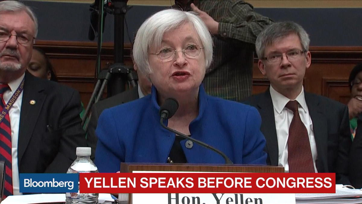Feb. 10 -- Federal Reserve Chair Janet Yellen testifies about monetary policy and the U.S. economy before the House Financial Services Committee.