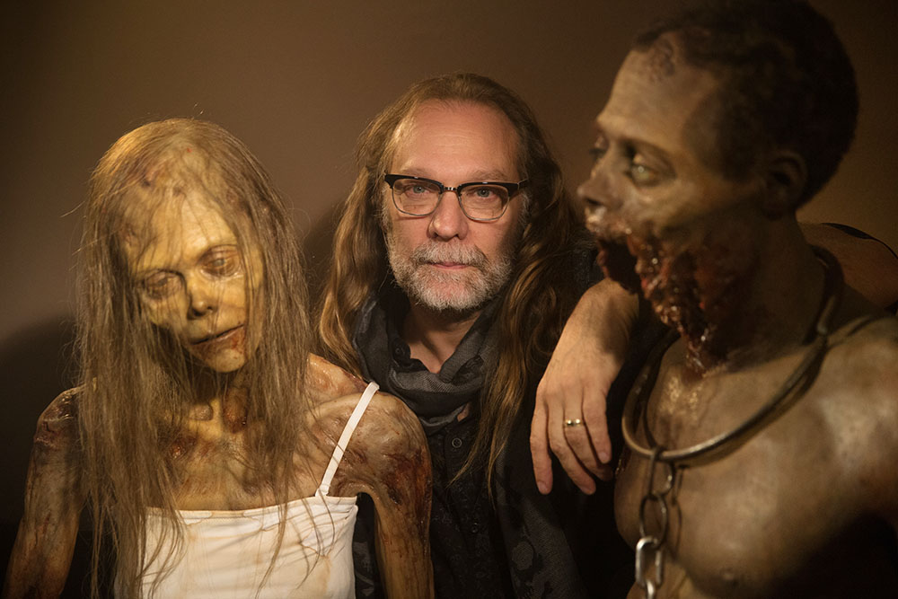 Greg Nicotero, is the special-effects makeup guru who does the zombies on The Walking Dead, He also works on Fear the Walking Dead, Into the Badlands and the upcoming Preacher. He gives us a behind-the-scenes look at his work.