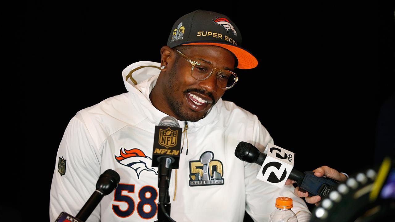 Speaking on 'The Ellen Show' on Tuesday, Super Bowl MVP Von Miller said that not only was he not sure where he'd be playing next season, but that his team's quarterback Peyton Manning might not retire just yet, either.
