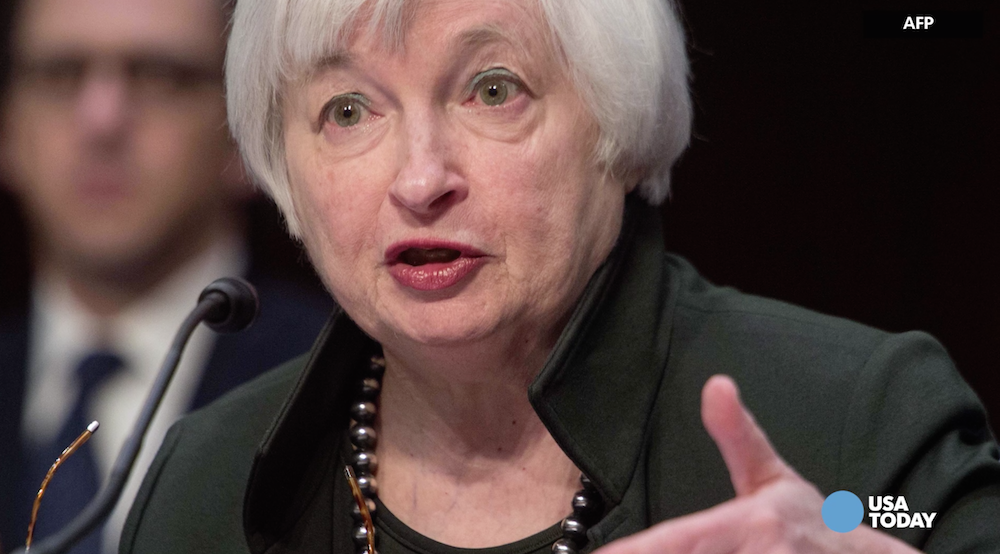 Yellen sends mixed message to markets