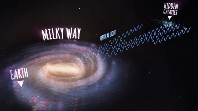 """Scientists used a radio telescope and an """"innovative receiver"""" to see the hidden galaxies. Video provided by Newsy"""