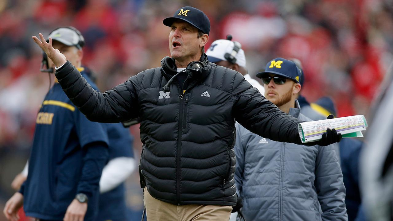 SEC Commissioner Greg Sankey is looking to make a move that would refrain Michigan from conducting practices during spring break and Wolverines head coach Jim Harbaugh is not too pleased about it.
