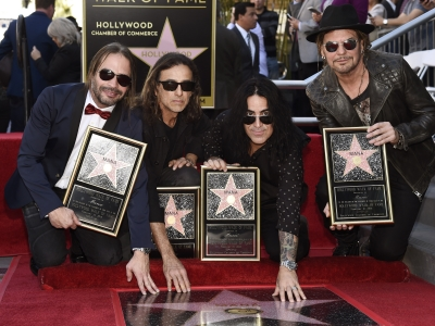 Mexican rock band Mana celebrates its star on the Hollywood Walk of Fame with help from guitar legend Carlos Santana and actress America Ferrera. (Feb. 11)
