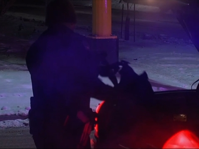 A Fargo police officer was shot during a standoff with a domestic violence suspect and is not expected to survive his injuries, police in North Dakota said early Thursday. (Feb. 11)