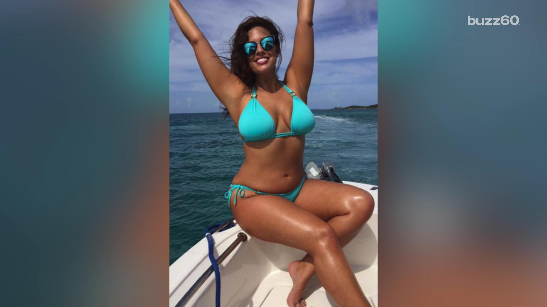 Ashley Graham brings full-figured curves to 'Sports Illustrated'