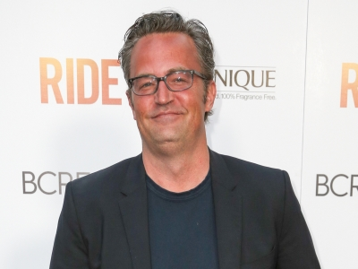 'Friends' actor-turned-playwright Matthew Perry reveals he's both nervous and excited about the London debut of his West End show, 'The End of Longing,' where appears in his underwear. (Feb. 11)