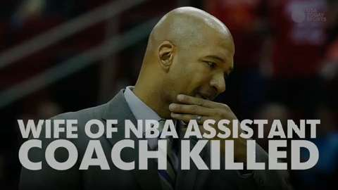The wife of Monty Williams, an assistant coach with the Thunder was killed in an automobile accident.