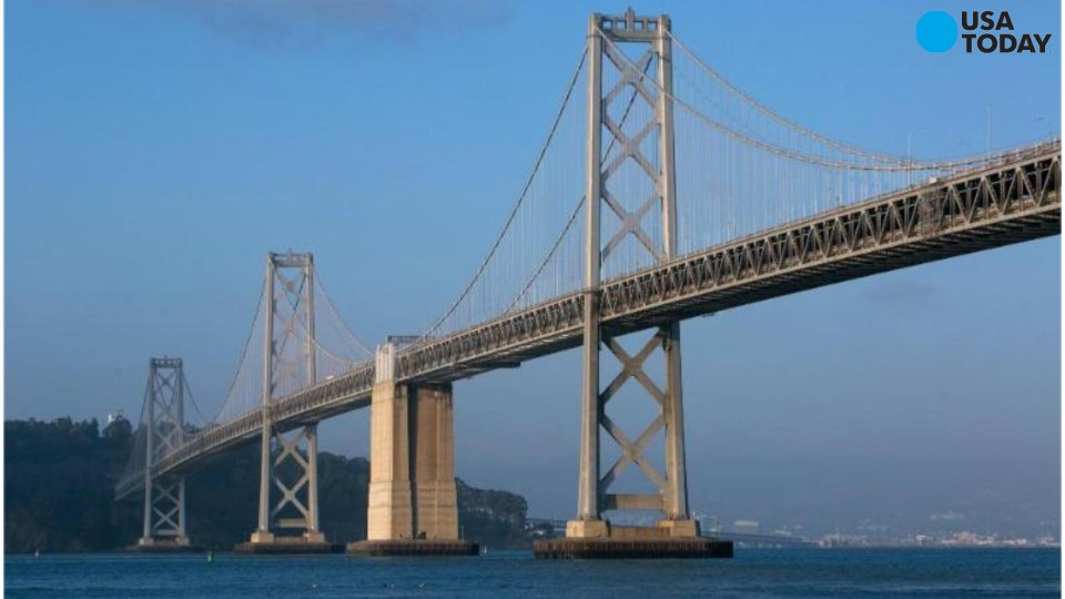 Two California Highway Patrol officers were commended for their bravery on Wednesday after helping get a distraught woman safely off a ledge on the Bay Bridge Tuesday evening. Callers originally told dispatchers that the woman had climbed over the r
