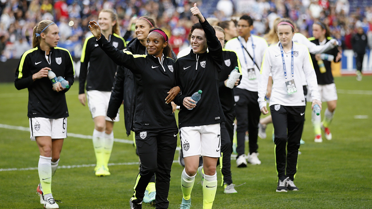 SI senior writer Grant Wahl discusses U.S. Soccer's decision to sue the union that represents USWNT players over the current collective bargaining agreement.