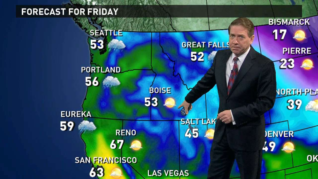 Friday's forecast: Flakes keep flying