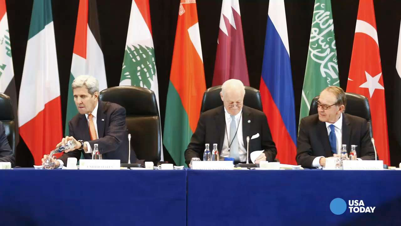 World powers agree to a deal for cease-fire in Syria
