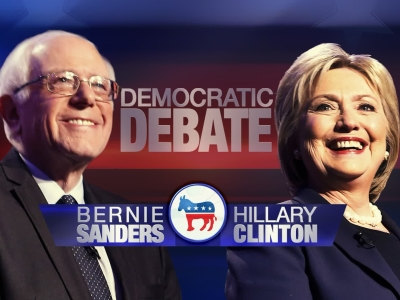 Clinton, Sanders face off in high-stakes debate
