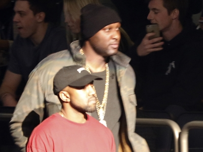 Lamar Odom makes appearance at Kanye West fashion show; Stalking defendant says he wanted Gwyneth Paltrow to forgive him; George and Amal Clooney meet Merkel to discuss refugees. (Feb. 12)
