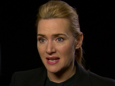 While Kate Winslet wants Leonardo DiCaprio to win his first Academy Award this year, she's also supporting her 'Steve Jobs' co-star Michael Fassbender. (Feb. 12)