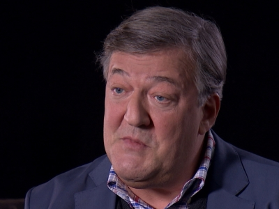 BAFTA Film Awards host Stephen Fry discusses the dangers of tokenism in award nominations. (Feb. 12)