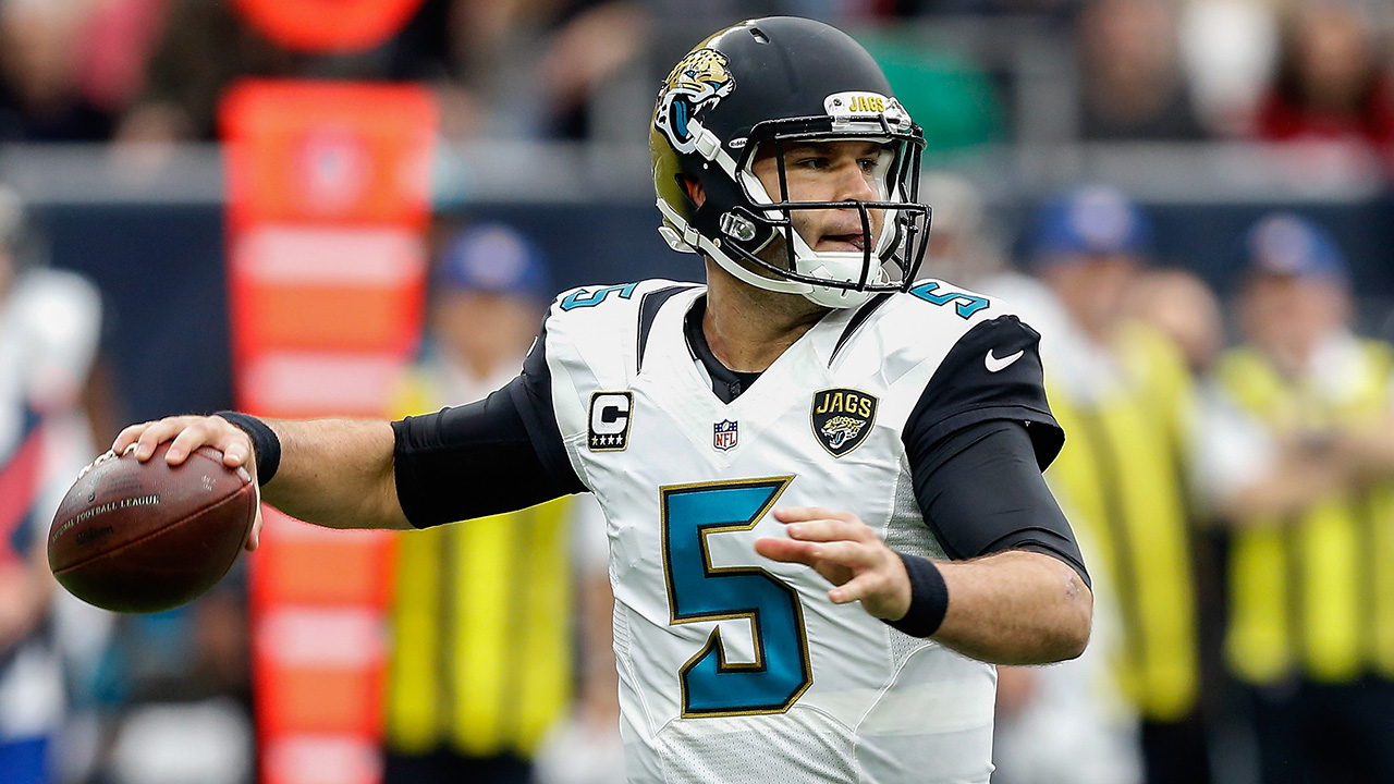 Jacksonville Jaguars quarterback Blake Bortles reviews his team's 5-11 season and explains why he'd prefer to play every home game in Jacksonville rather than play one game a season in London.